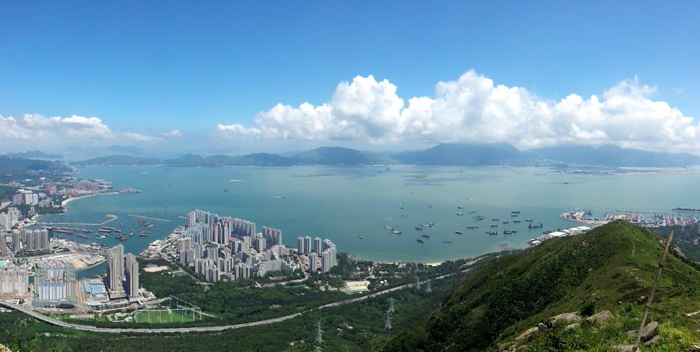 Castle Peak Bay Tsing Shan Wan 青山灣 The Hong Kong