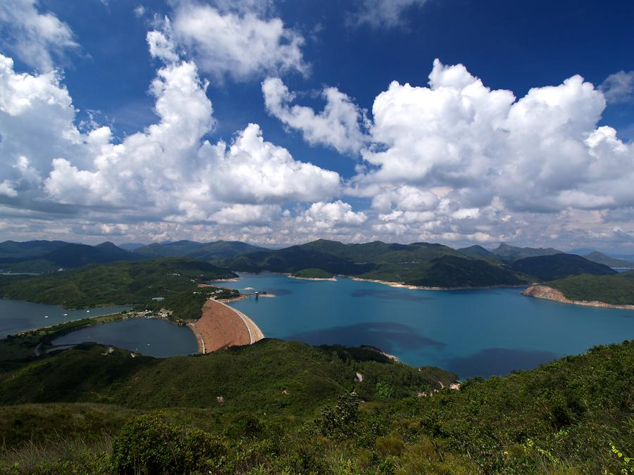 High Island Reservoir seen from Tai She Teng 大蛇頂望萬宜水庫