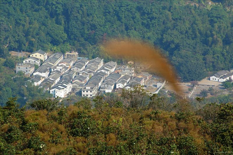Hakka Village at Lai Chi Wo in Double Heaven