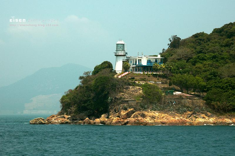 Old and New Green Island Lighthouses 新舊青洲燈塔
