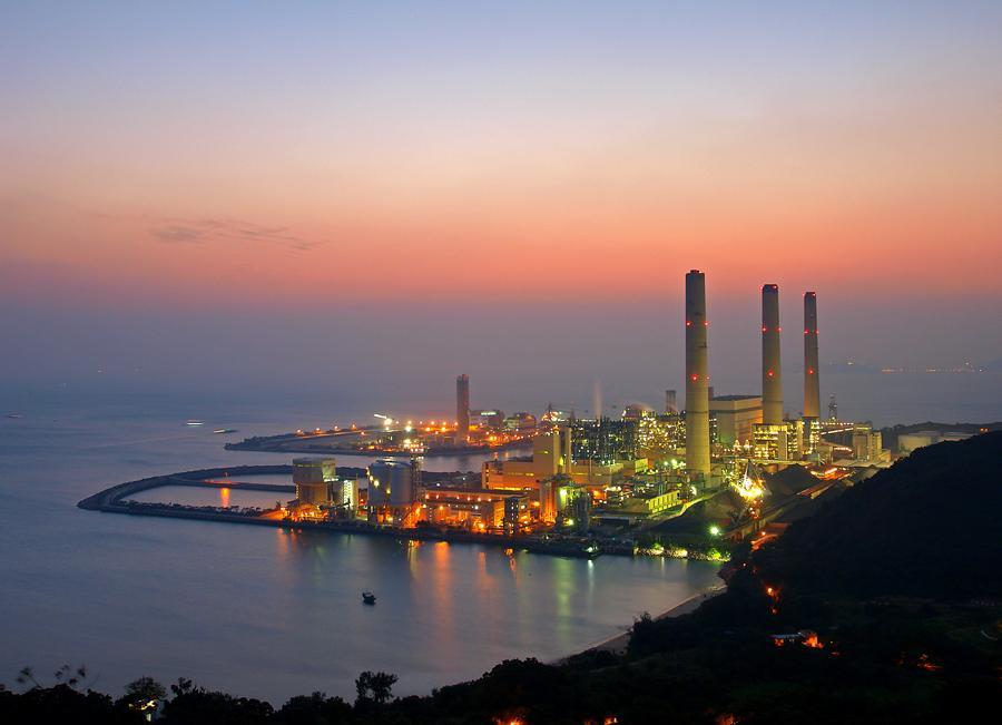 Three Chimneys of Lamma Power Station | 南丫發電廠