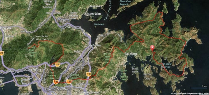 Vibram® Hong Kong 100 Course Map