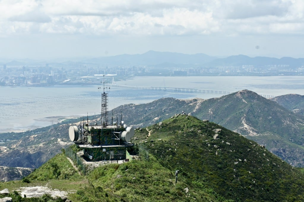 Castle Peak - Military Radar Station (青山雷達電波接收轉發站)