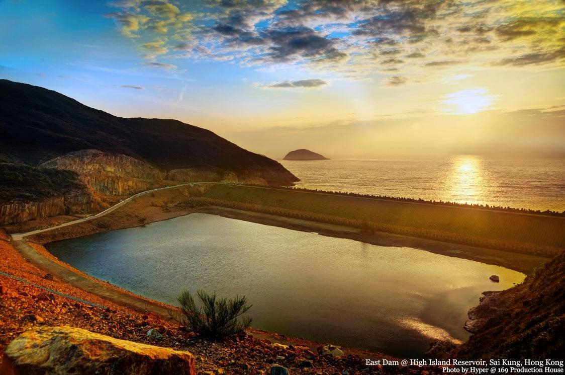 Geo Trail at East Dam, High Island Reservoir, Sai Kung