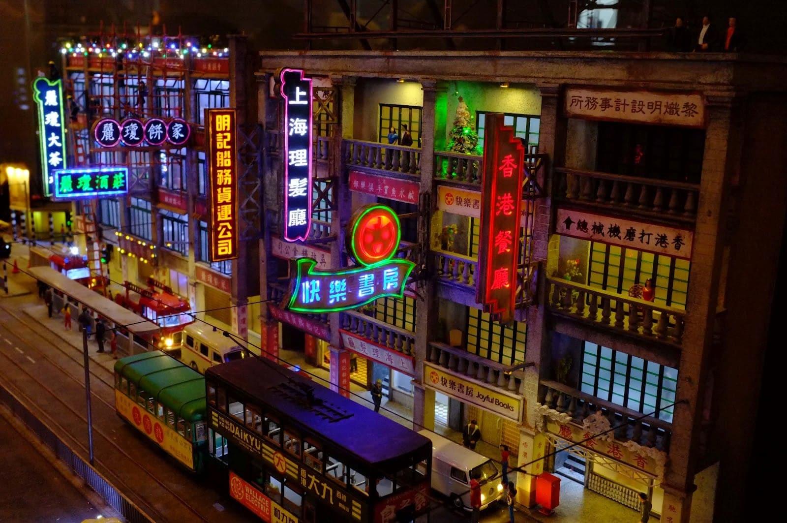 Dingding, Hong Kong Tramways, Double Decker, Time Travel in Hong Kong
