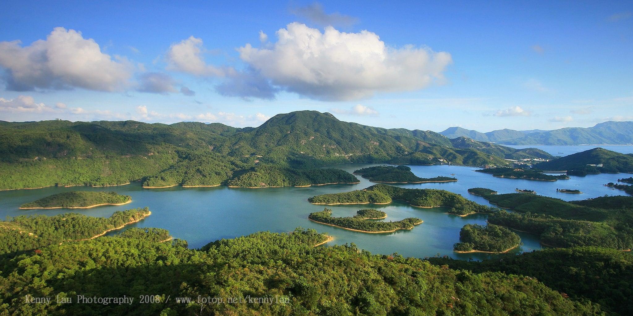 Tai Lam Chung Reservoir at Tai Lam Country Park