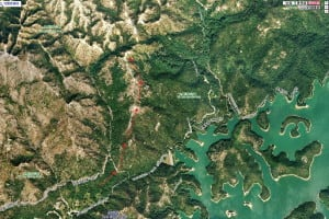 The Trail to View Thousand Island Lake