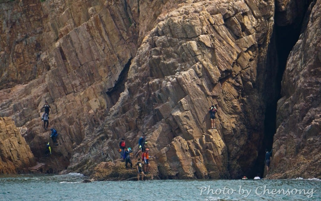 Coastline Trekking at Town Island (Fo Tau Fan Chau)