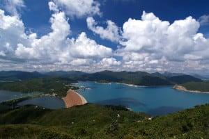 High Island Reservoir seen from Tai She Teng 大蛇頂望萬宜水庫
