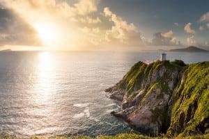 Pre-war Lighthouse at Cape d'Aguilar Marine Reserve 鶴咀燈塔