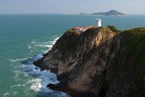 Pre-war Lighthouse at Cape d'Aguilar Marine Reserve 鶴咀海岸保護區燈塔