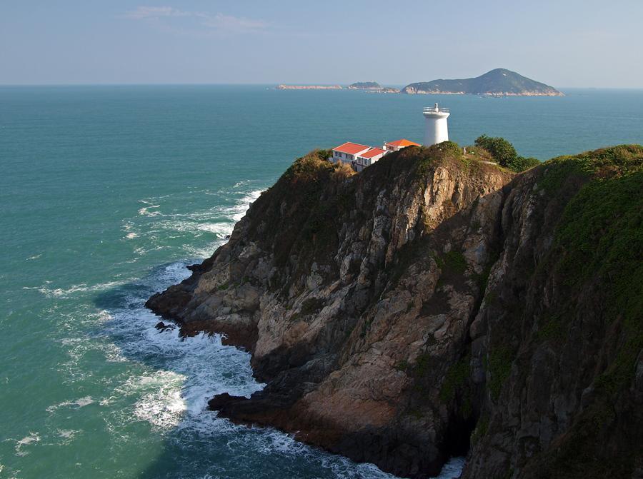 Pre-war Lighthouse at Cape d'Aguilar Marine Reserve