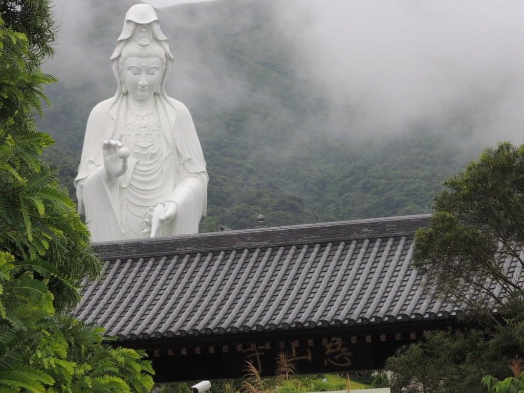Guan Yin Statue at Tsz Shan Monastery | 慈山寺觀音像