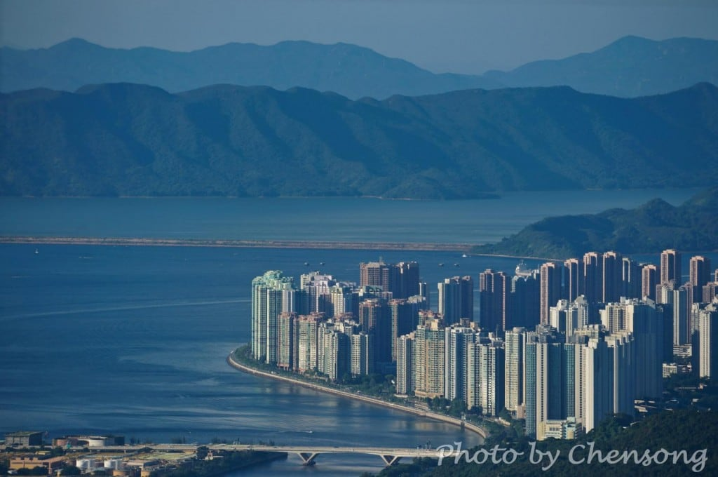 Sha Tin Hoi, Tolo Harbour, Ma On Shan