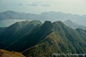 Kau Nga Ling at Launtau Peak | 鳳凰山狗牙嶺