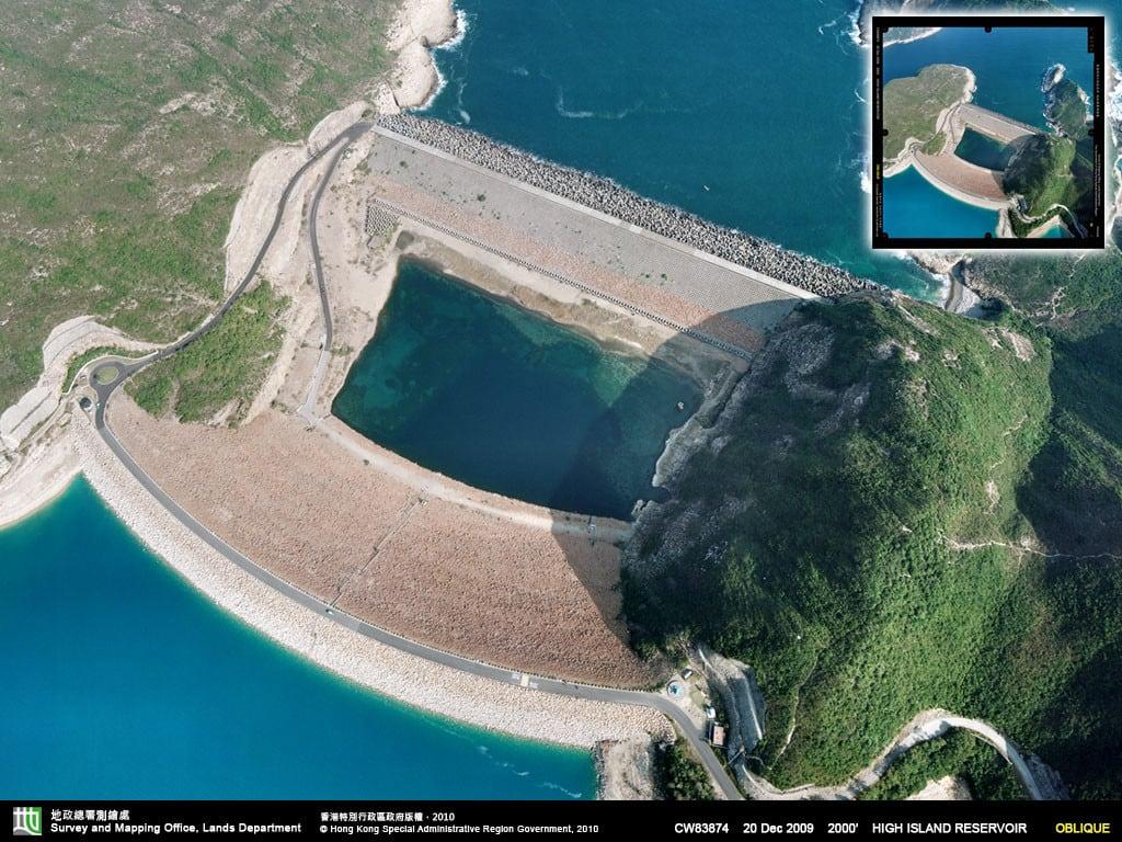 Bird View of High Island Reservoir at Sai Kung | 西貢萬宜水庫鳥瞰圖