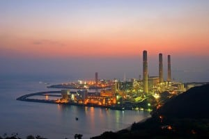 Three Chimneys of Lamma Power Station | 南丫發電廠