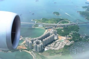 Birdview of Ma Wan Island | 俯瞰馬灣