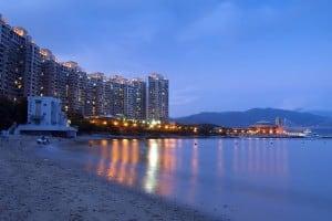 Park Island and Tung Wan Beach at Ma Wan | 珀麗灣和東灣泳灘