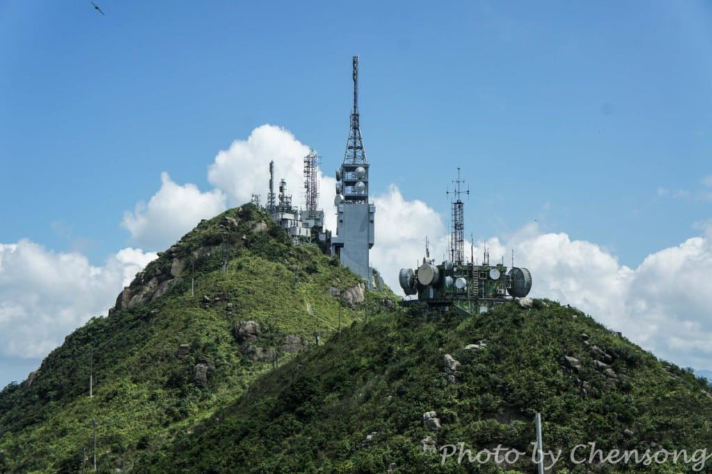 TV Broadcast and Military Radar Station at Castle Peak | 青山電視站和雷達電波接收轉發站