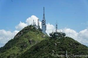 TV Broadcast and Military Radar Station at Castle Peak | 青山電視站和雷達電波接收轉發站
